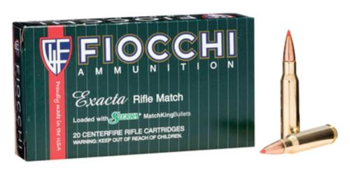 Fiocchi Extrema Rifle Match .308 Win 150gr, Sst, 20rd Box