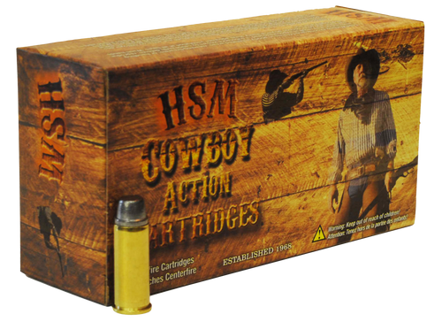 HSM Cowboy Action 30-40 Krag 165gr, Round Nose Flat Point, 20rd Box