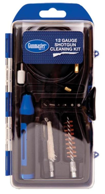 DAC Gunmaster Shotgun Cleaning Kit, 13 Pieces, 12GA, Includes Pull Through Rod and 6 Piece Driver Set