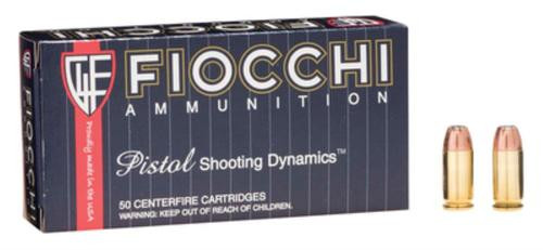 Fiocchi Shooting Dynamics .45 Auto 200gr, Jacketed Hollow Point 50rd Box