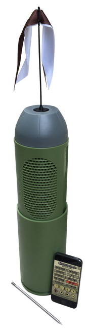 Convergent Bullet HP Electronic Call Predators Polycarbonate Green Rechargeable