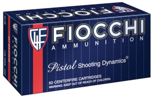 Fiocchi Shooting Dynamics .357 Magnum 158gr, Jacketed Hollow Point 50rd Box