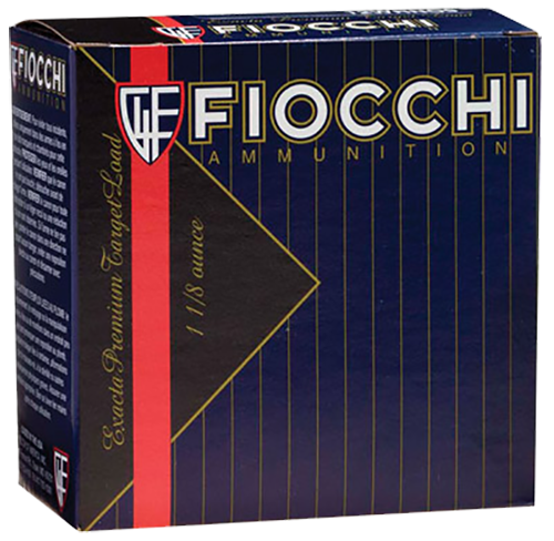"Fiocchi Premium High Antimony Lead 12 Ga, 2.75"", 1-1/8oz, 9 Shot, 25rd/Box, 10 Box/Case"