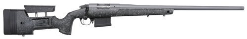 "Bergara Premier HMR Pro 6.5 PRC, 26"" Barrel, Synthetic/Mini-Chassis Black, Gray Specs Stock, Stainless Cerakote, 7rd"