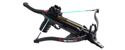PSE Handheld Crossbow Viper SS 50lb Draw Weight 215 FPS, Black