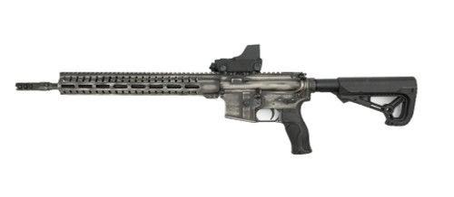 CMMG Resolute AR-15, .223/5.56, Battle Worn Titanium Finish, Meprolight RDS Optic