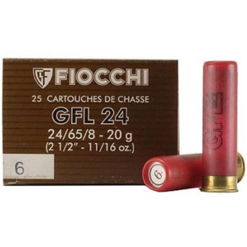 "Fiocchi Specialty 32 Ga, 2 1/2"", 1/2oz, 8 Shot, 25 Box"