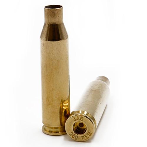 Ammo Inc JMC Unprimed Pistol Brass 260 REM 50Pcs