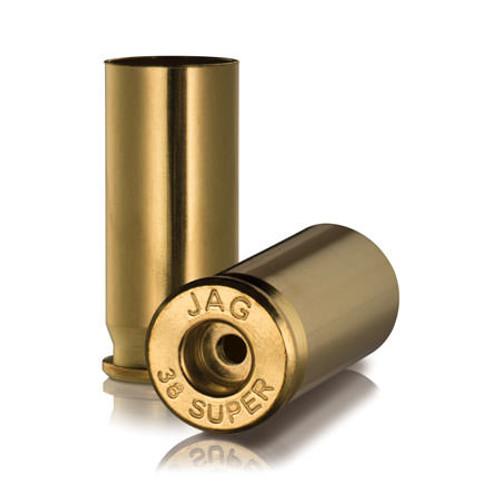 Ammo Inc JMC Unprimed Pistol Brass .38 Super 100Pcs