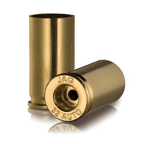 Ammo Inc JMC Unprimed Pistol Brass .32 ACP 100Pcs