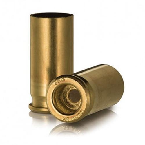 Ammo Inc JMC Unprimed Pistol Brass .25 ACP 100Pcs