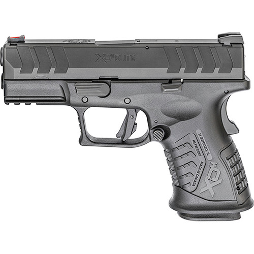 "Springfield XDM Compact 9mm, 3.8"" Barrel, Black, Fixed Sights, 14rd"