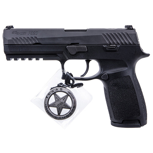 *D*Sig P320 9mm Texas Ranger Limited, Night Sights, Exclusive, 17rd