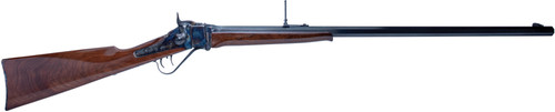 "Cimarron 1874 Sharps Sporting 45-70 Gov, 32"" Barrel, 'A' Wood, 1rd"