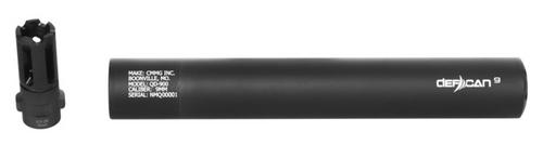 CMMG Defcan 9 9mm, QD 1/2 - 28