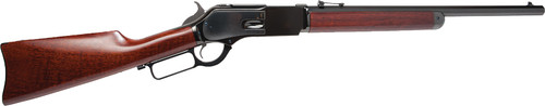 "Cimarron Presidio Del Norte 1876 Short Rifle Button 50-95, 20"" Octagon Barrel, Blue, Walnut"