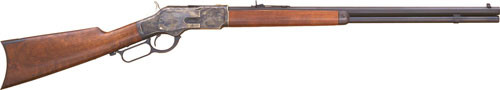 "Cimarron 1873 Sporting Rifle 44-40 Win, 24"" Barrel"