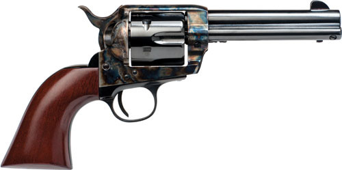 "Cimarron Frontier 44-40 Winchester, 4 3/4"" Barrel, Color Casehardened, Blued, Walnut, 6rd"