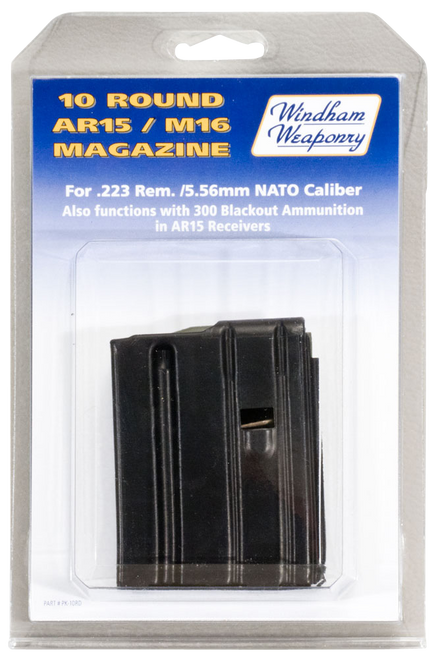 Windham Weaponry AR-15 223 Rem,5.56 NATO 10rd Black Detachable Clam Pack