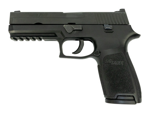 "Sig P250 Full Size Used .45 ACP, 4.7"" Barrel, Contrast Sights, Black Nitron, 10rd/14rd No Box"