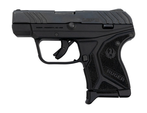 "Ruger LCP II 380 Used .380 ACP, 2.75"" Barrel, Improved Trigger, Fixed Sights, Black, 6rd"