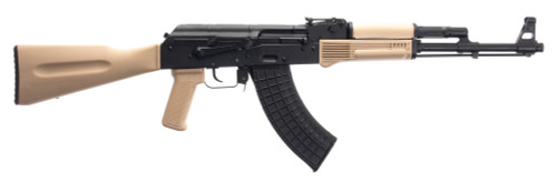 "Arsenal AK47 SLR-107R 7.62x39mm, 16"" Barrel, Desert Tan Furniture, 5rd"