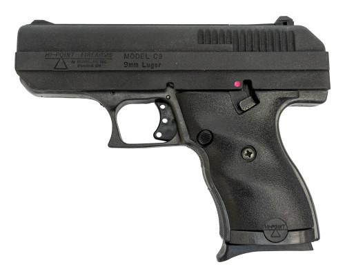 "Hi-Point C9 Used 9mm, 3.5"" Barrel, Black Poly Grip/Frame, 8rd"