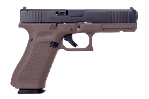 "Glock 17 Gen5 MOS 9mm, 4.49"" Barrel, Flat Dark Earth, 3x 17rd"