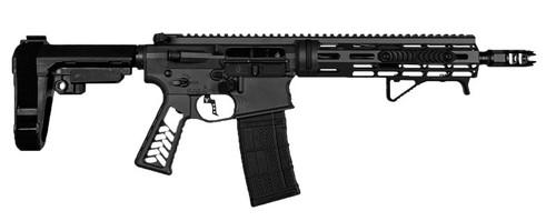 "Falkor Phantom AR-15 Pistol 300 Blackout, Black, 10.5"" Barrel SBA3 Brace 30rnd Mag"
