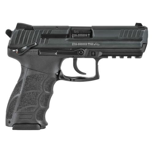 """HK P30 V3 9mm, 3.85"""" Barrel, Night Sights, Manual Safety/Decocker, Black, 2x 17rd"""