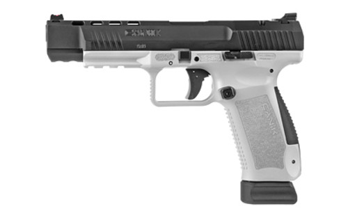 "Canik TP9SFX 9mm, 5.2"" Barrel, Black-White, Match Grade, 20rd"