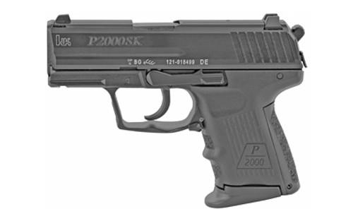 "HK P2000SK V3 DA-SA Sub Compact 40S&W, 3.26"" Barrel, Polymer Frame, Black, 3 Dot, Decock, 2x9rd"