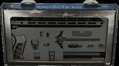 Timber Creek Enforcer AR Build Kit, M-LOK, Black Cerakote