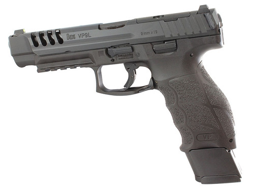 HK VP9L OR 9mm Black Night Sight Three 20 Round Mags