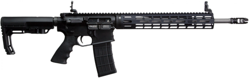 Falkor The Standard AR-15 Rifle, 223 Remington/Wylde Black, 16in Barrel