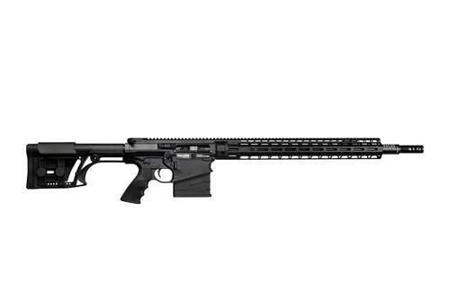 Falkor Petra AR-10/15 Type Rifle, 300 Win. Mag, Black, 22in DRACOS Composite Barrel