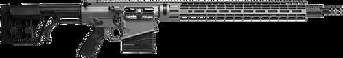Falkor Petra AR-15 Type Rifle, 300 Win. Mag, Grey, 22in DRACOS Composite Barrel