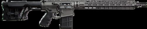 "Falkor Alpha AR-10/15 Type Rifle, 308 Win, Black, 18"" DRACOS Composite Barrel"