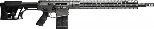 Falkor Omega AR-15 Type Rifle, 6.5 Creedmoor, Grey, 22in DRACOS Composite Barrel