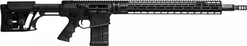 Falkor Omega AR-15 Type Rifle, 6.5 Creedmoor, Black, 22in DRACOS Composite Barrel