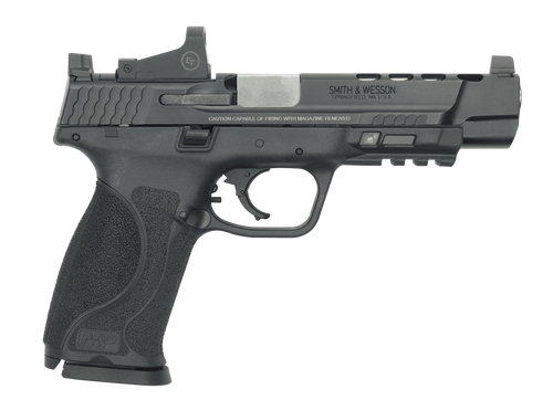 "Smith & Wesson M&P9 M2.0, 9mm, 5"" Ported Barrel, Crimson Trace Red Dot, 17rd"