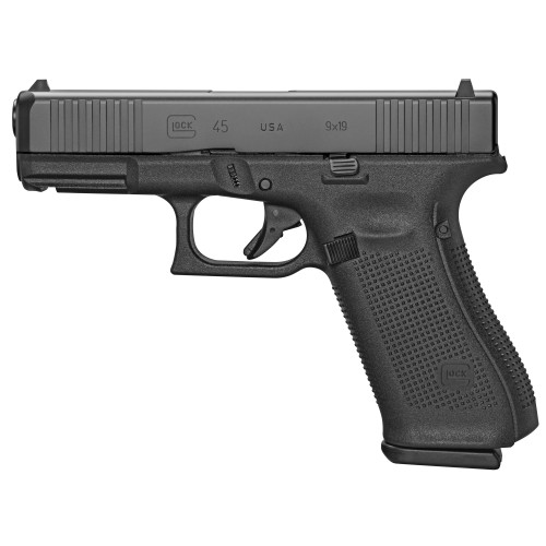 "Glock G45 Gen5 9mm, 4.02"" Barrel, 17rd, Front Serrations, USA Made"