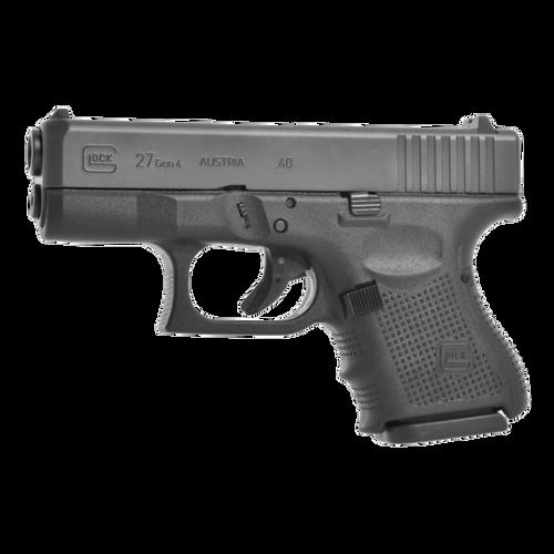 "Glock G27 Gen4, .40 S&W, 3.42"" Barrel, 9rd, Fixed Sights"