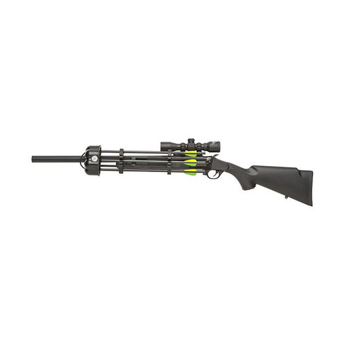 """Traditions Crackshot XBR Arrow Launching Rifle, .22LR 16.5"""" Edge Scope Package"""