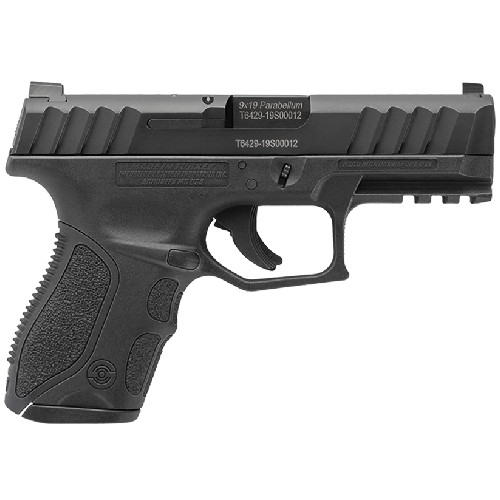 "Stoeger STR-9C, 9mm, 3.8"" Barrel, 1 - 13rd Mag, Medium Backstrap Only, 3-Dot Sights"