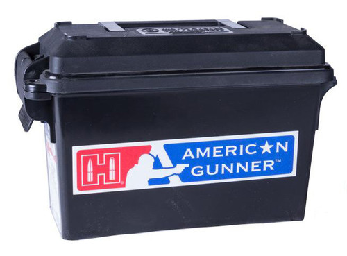 Hornady American Gunner 6.5 Grendel 123 gr, BTHP 200 Rounds W/Ammo Can