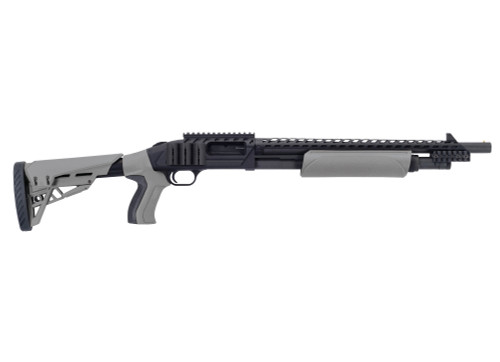 "Mossberg 500 Scorpion 12 Ga, 18.5"" Barrel, Destroyer Grey, 5rd"