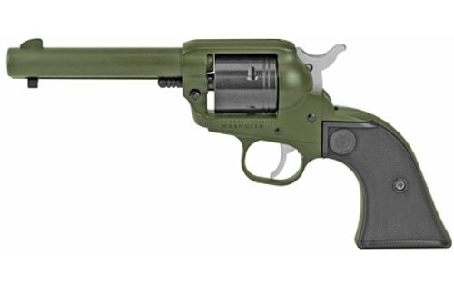 "Ruger Wrangler .22 LR, 4.62"" Barrel, OD Green Finish, 6rd"
