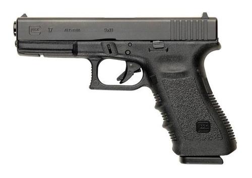 """Glock G17 Gen3 AUS 9mm, 4.48"""" Barrel, Fixed Sights, Black, 17d"""