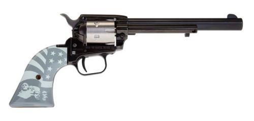 "Heritage Rough Rider 2-Tone Liberty .22 LR, 6.5"" Barrel, SS/Black, 6rd"
